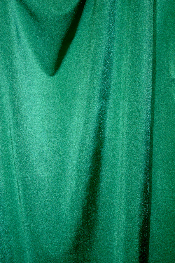 Emerald Green Satin Spandex