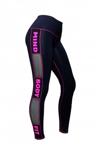 Pink Mind---Body---Fit Leggings