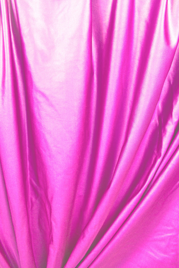 Hot Pink Satin Spandex