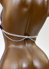 Crystal Clear Close-up Bra Back Hanging Connector