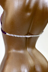 Double Crystal AB Bra Back Rhinestone Connectors