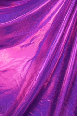 Purple Pink Hologram Spandex