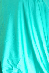 Deep Mint Satin Spandex