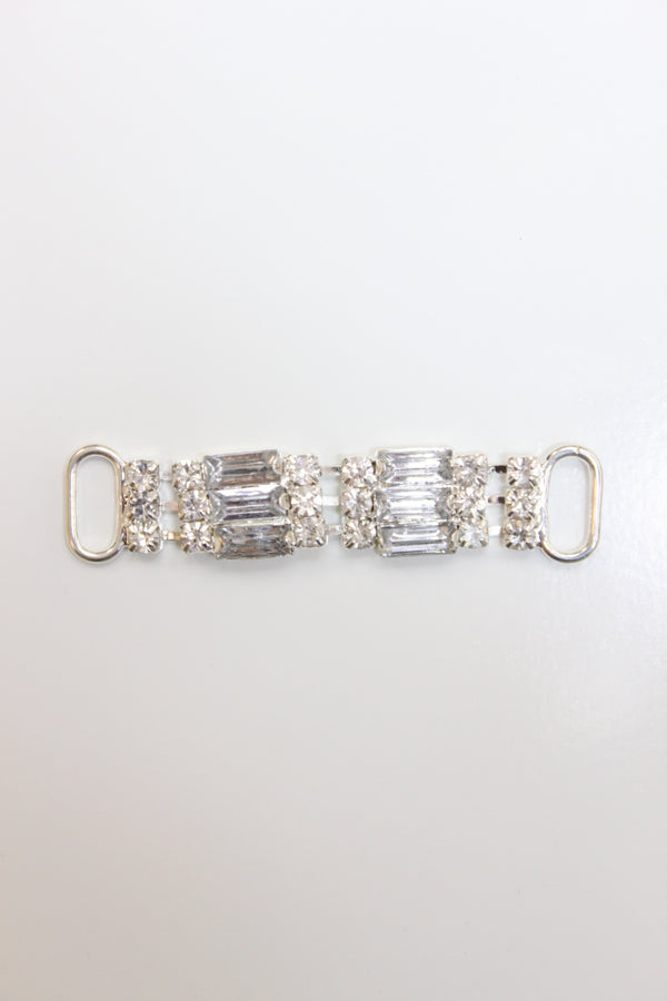 Rectangular Rhinestone Connector