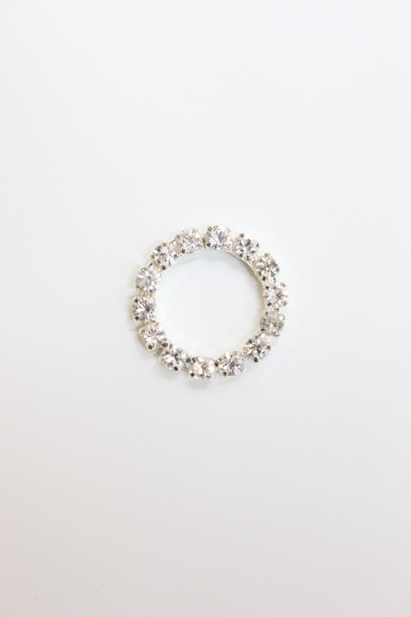 Crystal Clear Rhinestone Circle