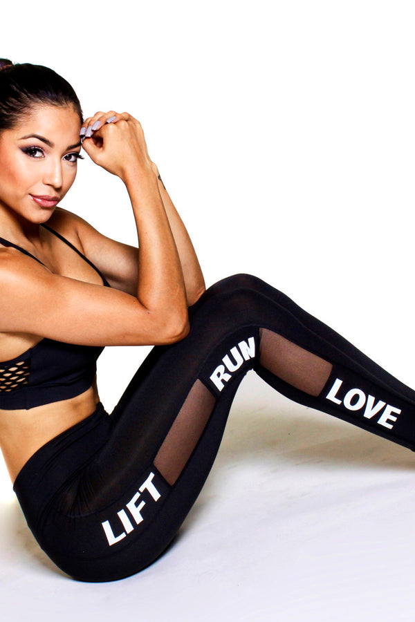 Lift---Run---Love Leggings