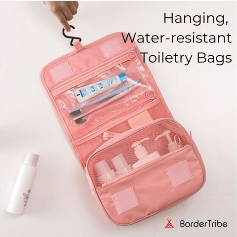 BorderTribe Hanging Travel Toiletry bag