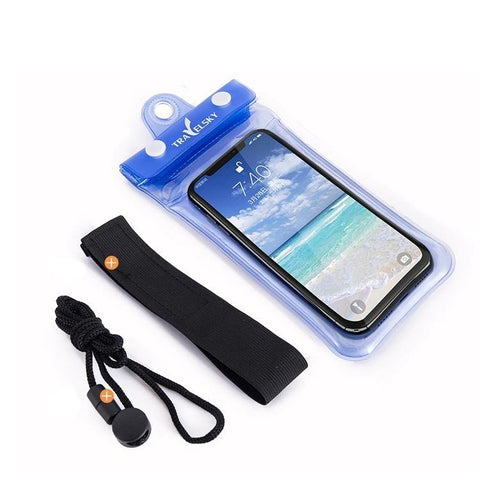 Waterproof cellphone cover