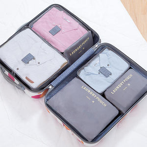 Travel Packing Cubes (6 Piece Set)