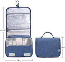 Load image into Gallery viewer, Hanging Travel Toiletry Bag