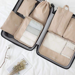 Travel Packing Cubes (7 Piece Set)