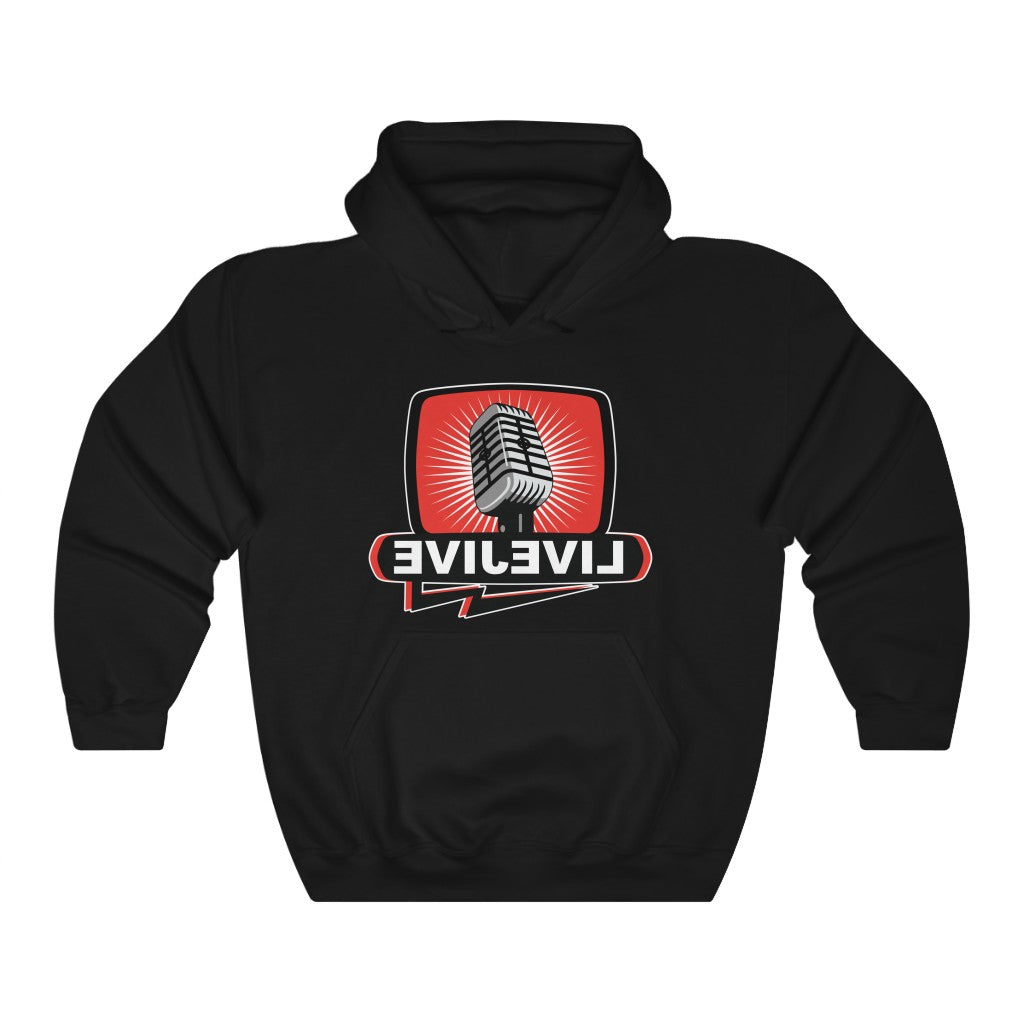 Official Bill Chott Live Jive Mirror Unisex Heavy Blend™ Hooded Sweatshirt