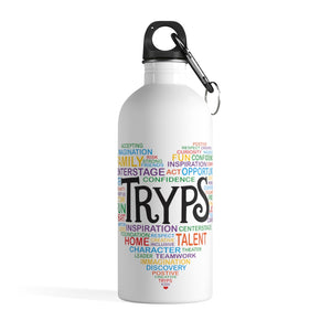 TRYPS Heart Stainless Steel Water Bottle