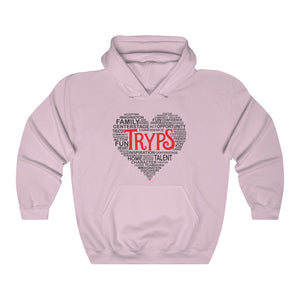 TRYPS Heart Unisex Heavy Blend™ Hooded Sweatshirt