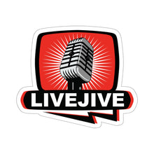 Load image into Gallery viewer, Official Bill Chott Live Jive Kiss-Cut Stickers
