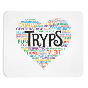 TRYPS Heart Mousepad