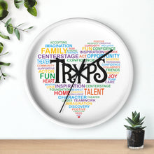 Load image into Gallery viewer, TRYPS Heart Wall clock