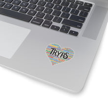 Load image into Gallery viewer, TRYPS Heart Kiss-Cut Stickers