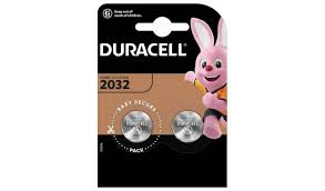 DURACELL LITHIUM 2032 - BLISTER 2 BATTERIE A BOTTONE 3 V