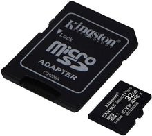 Carica l'immagine nel visualizzatore di Gallery, Kingston Memory Card Micro SD 32GB C10 SDCS2/32GB Canvas Select Plus