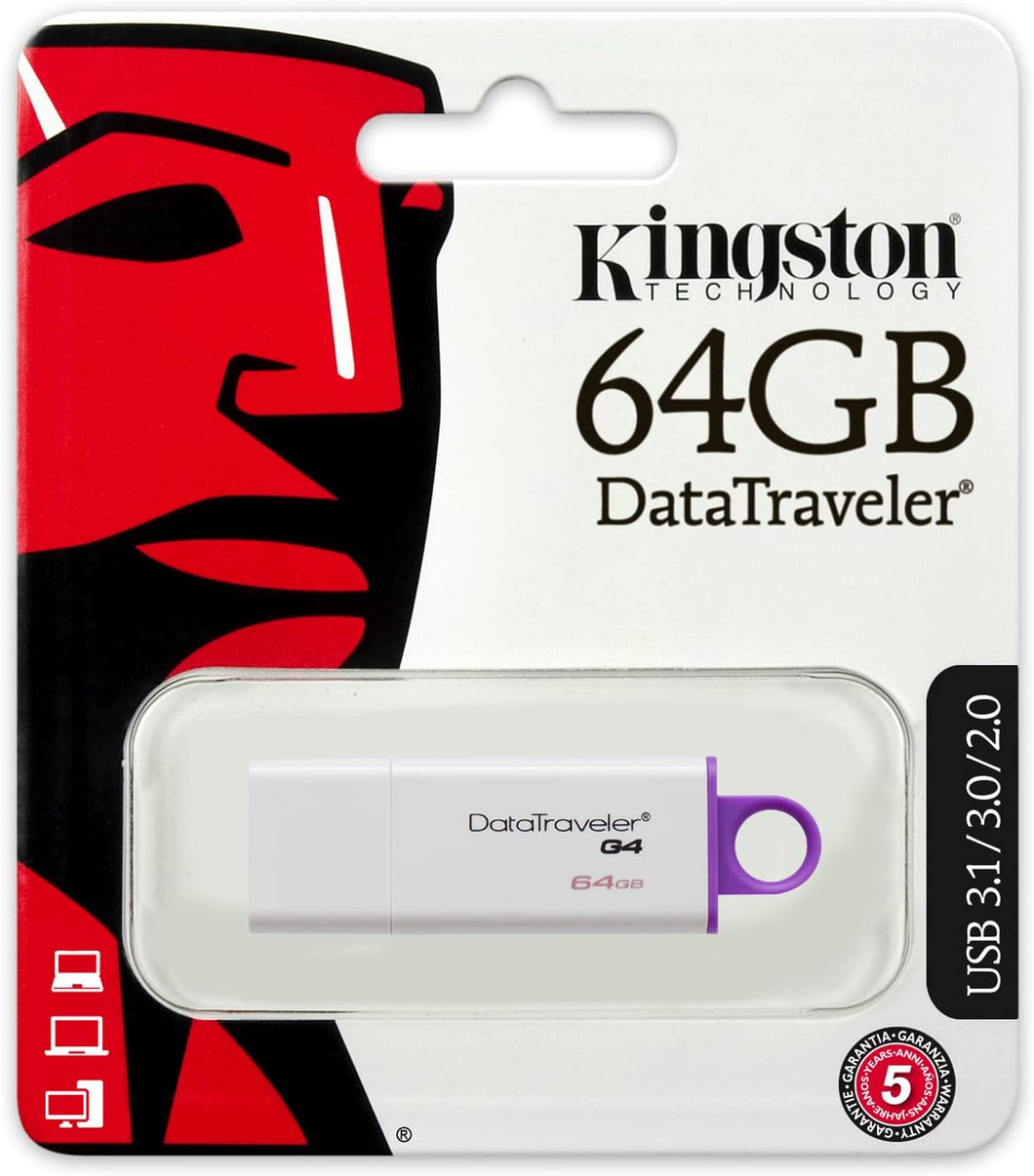 Kingston Pen Drive 64GB DTI-G4 3.0 DTIG4/64GB