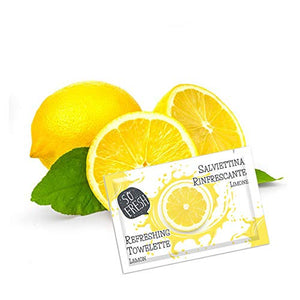 Dispenser Salviettina al limone 100pz