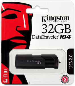 Kingston Digital 32 Gb Datatraveler 104