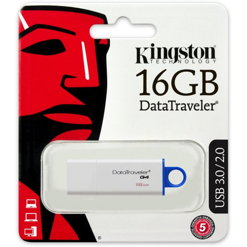 PEN DRIVE KINGSTON 16 GB DATATRAVELER GENERATION 4 TECNOLOGIA USB 3.0