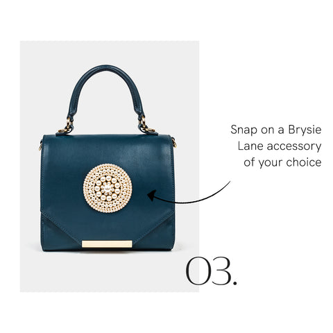 How to Add a Brysie Lane Bag Accessory Step 3