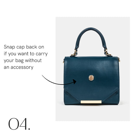 How to Add a Brysie Lane Bag Accessory Step 4