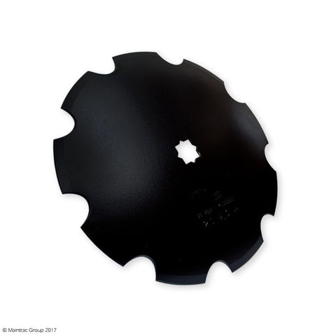 "26"" Scalloped Discs - Flat Back"