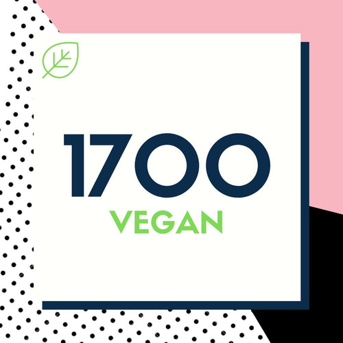 1700 Calorie Vegan Meal Plan