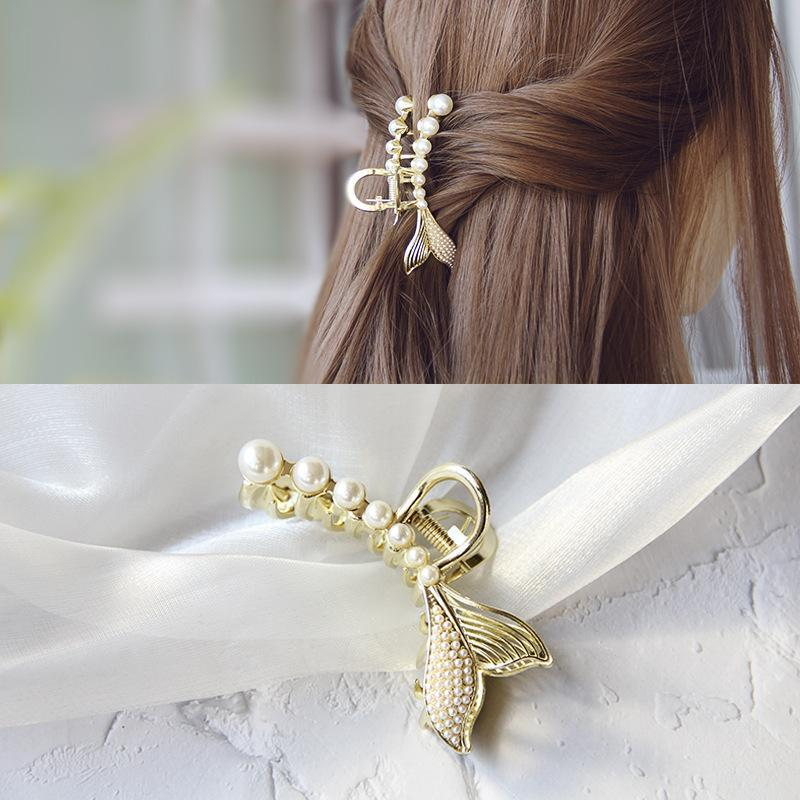 Simple Headdress Metal Hairpin