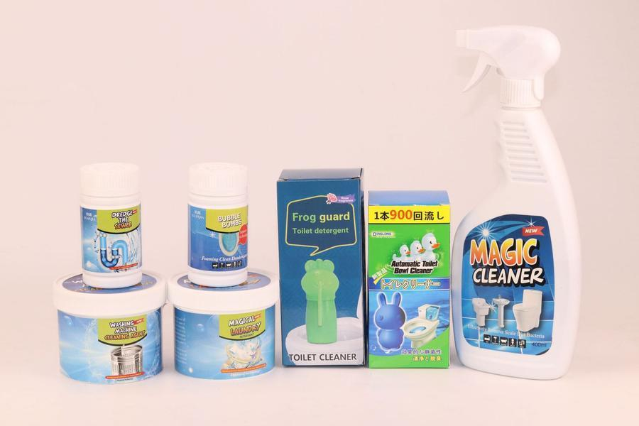 Multifunctional Detergent Powder for Strong Bacteriological Removal