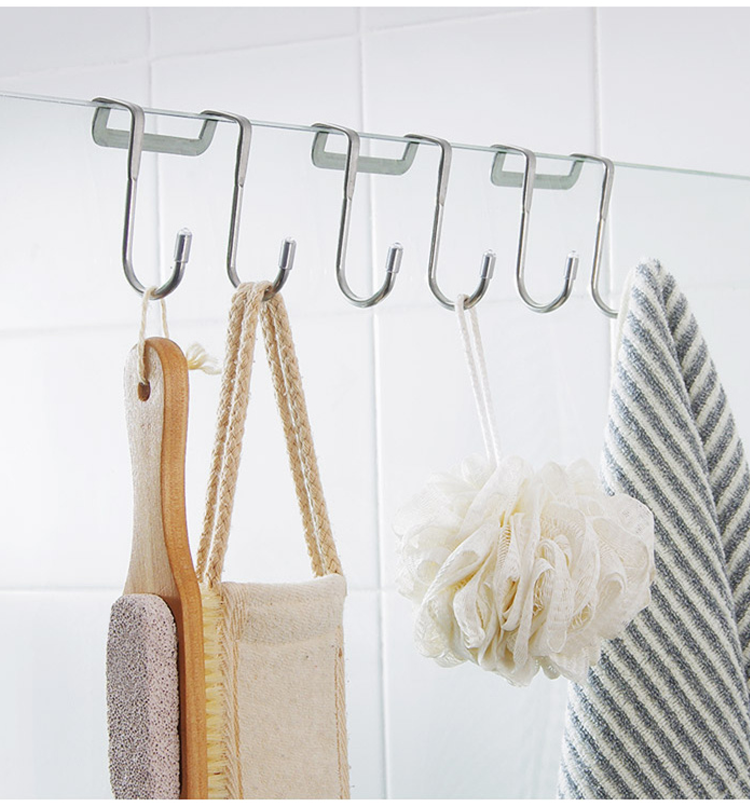 Multifunctional S-shaped Bathroom Kitchen Hook Hanger