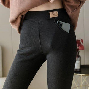 Super Thick Cashmere Wool Leggings
