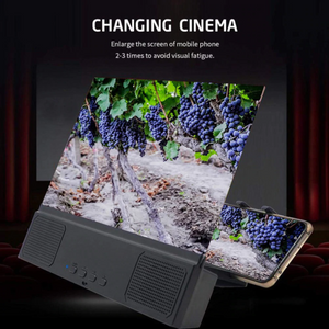 Phone Screen Amplifier with Bluetooth Speaker
