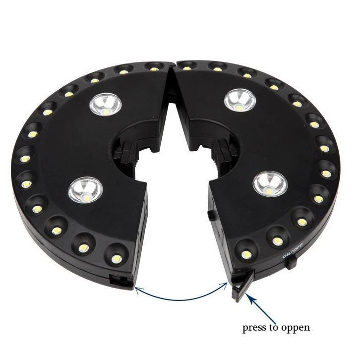 Umbrella Light - Black