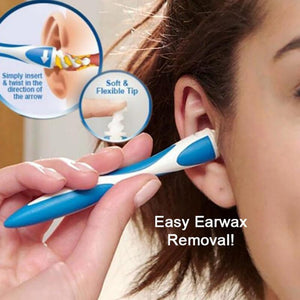 Portable Earwax Cleaner Rotating Smart Ear Wax Removal Tools