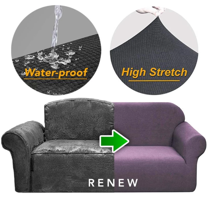 Universal Sofa Cushion Elastic Sofa Cover Lazy Sofa Cover