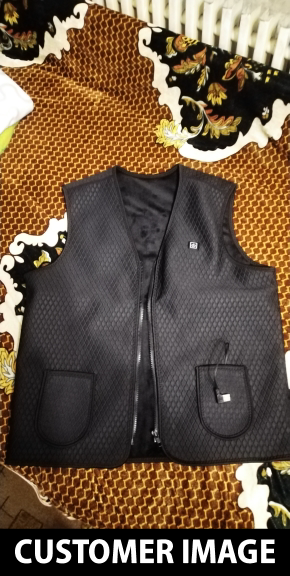 Battery Powered Heating Vest