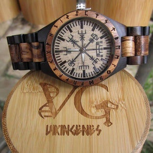 Handmade Engraved Wooden Watch