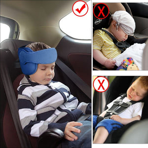 Kids Car Set Head Supporter with Adjustable Belt