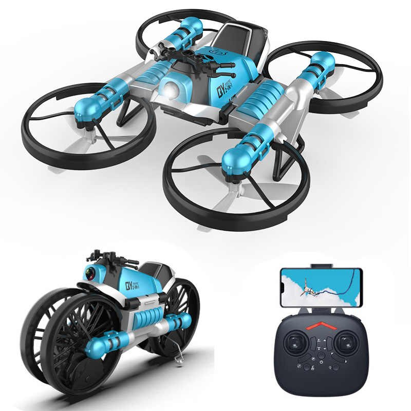 Folding Remote Control Motorcycle Aircraft
