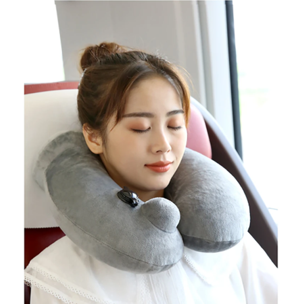 Inflatable U-Shaped Pillow