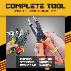 Multifunctional Electrician Pliers (6-in-1)