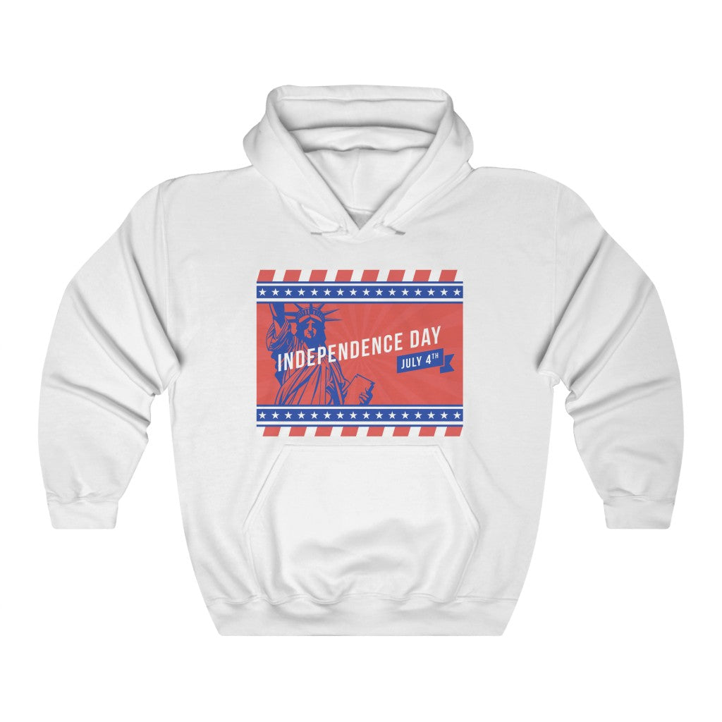 Statue Of Liberty Independence Day Hoodie