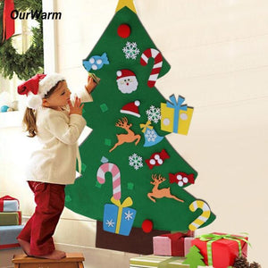 Felt Christmas Tree for Kids