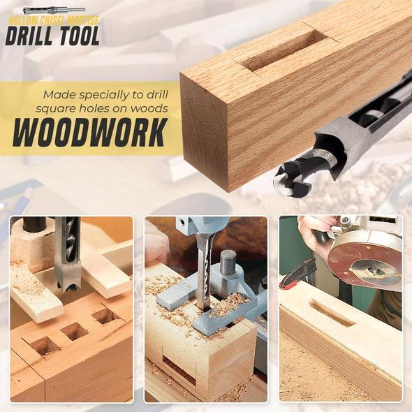 Hollow Chisel Mortise Drill Tool