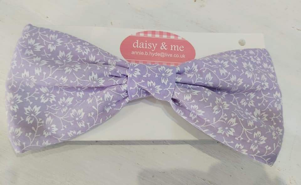 Girls bow headbands (5 colours)